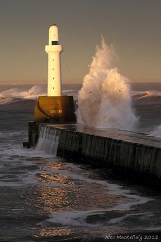 Torry Battery Lighthouse - Aberdeen, Scotland