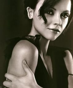 Christina Ricci. I've always liked her. I think she's got an exotic looking face and loved that despite body image issues she has gotten her body to where it is now, in a healthy way. She still rocks her curves.