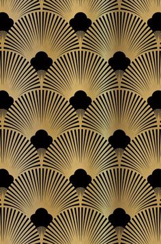 Define a Style Series: What is Art Deco Design? A study in opulence - we hope .Define a Style Series: What is Art Deco Design? A study in opulence - we hope you like the Wallpaper From The 70s, Wallpaper Art Deco, Standard Wallpaper, Fabric Wallpaper, Pattern Wallpaper, Golden Wallpaper, Nike Wallpaper, Wallpaper Designs, Trendy Wallpaper