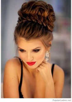 amazing-big-high-updo-with-a-braid-and-an-amazing-make-up