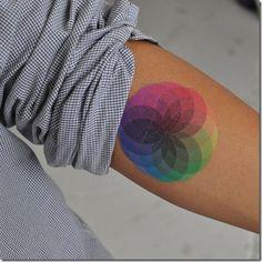 tattoos criativas cores
