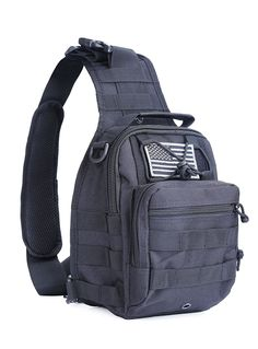 BX warehouseOutdoor Tactical Shoulder Backpack¥_š flag patch¥_Š, Military and Sport Bag Pack Daypack for Camping, Hiking, Trekking, Rover Sling,chest bag >>> This is an Amazon Affiliate link. Read more reviews of the product by visiting the link on the image.
