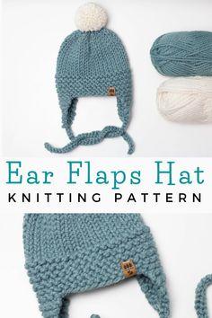 Halloween Knitting Patterns, Beanie Knitting Patterns Free, Baby Hats Knitting, Knitting For Kids, Free Knitting, Knitting Projects, Free Childrens Knitting Patterns, Beginner Knitting, Knitted Baby Beanies