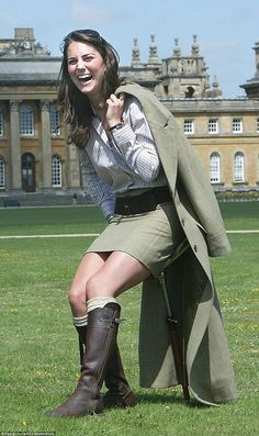 Back when Kate was a student dating Prince William, she had a curvier figure and plumper face