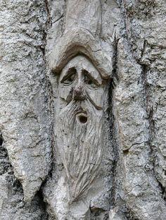 old green man...
