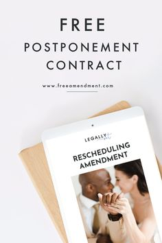 With so many event Postponements happening every day, you need a solid rescheduling amendment that properly outlines the changes to the event date, event logistics and fees. Don't get caught without it. Get yours for free here! Creative Business, Business Tips, Event Logistics, Got Caught, Wedding Planning Tips, Free Wedding, Outlines, Online Courses, Coaching