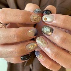 Hello Nails, Get Nails, Japanese Pottery, Creative Nails, Short Nails, Nail Arts, Nail Inspo, Swag Nails, Nails Inspiration