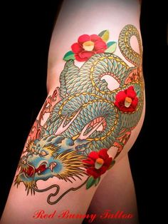 龍タトゥー/刺青デザイン画像