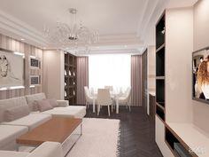 Дизайн интерьера квартиры от Kucherenko Design. Крым, Симферополь - фотография 135273