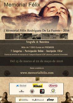 Concurso Memorial Félix Rodríguez de la Fuente - http://www.aefona.org/concurso-memorial-felix-rodriguez-de-fuente/