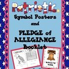 This download included several Patriotic Symbol Signs in color. There is also a Pledge of Allegiance booklet included. The children can trace the w...