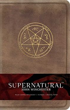 Buy Supernatural: John Winchester Hardcover Journal online and save! Show off your Supernatural devotion with this deluxe journal, featuring notes and advice from John Winchester himself! Blowing town after a deadly hu. Supernatural Merchandise, Supernatural Bloopers, Supernatural Tattoo, Supernatural Imagines, Supernatural Wallpaper, Supernatural Funny, Supernatural Crafts, John Winchester Journal, Sam And Dean Winchester