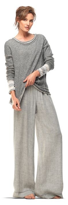 Heathered Gray Pullover