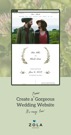 We joined forces with Paperless Post, so you can match your wedding website to your save the dates and invitations. Sign up for Zola Weddings, your FREE suite of planning tools: wedding website, checklist, registry, and guest list.