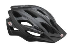 Bell Slant Bike Helmet. Versatile, stylish and affordable, the Slant is an exceptional helmet at an amazing price. Features 21 channeled vents, a Fusion In-Mold Microshell, ErgoDial fit system, easy-adjust Cam-lock strap levers, and a Blade Visor. Fusion In-Mold Microshell and ErgoDial Fit System. 21 Vents with Channeled Ventilation weighing 10.6 oz / 300g. Cam-lock Levers and Blade Visor. Universal Adult Sizing (58 - 65cm).