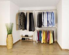 Fresh offener kleiderschrank kleiderschrank begehbar begehbarer schrank wohnung Pinterest Small rooms Bed room and Lofts
