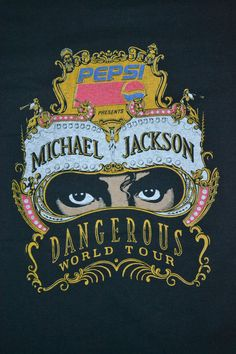 Vintage 1992 MICHAEL JACKSON Dangerous World Tour by OldSchoolZone