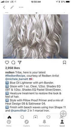 New Hair Coloring Technique . 30 New New Hair Coloring Technique . 70 Flattering Balayage Hair Color Ideas for 2019 In 2019 Cool Toned Blonde Hair, Blonde Hair At Home, White Blonde Hair, Icy Blonde, Balayage Hair Blonde, Redken Toner, Redken Hair Products, Hair Color Formulas, Celebrity Hair Colors