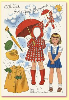 Teri's Paper Doll Land: lots of out of print paper dolls