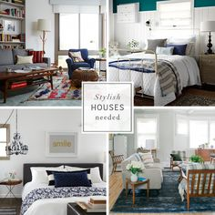 Emily Henderson needs cool houses for her book. Stylish Houses Needed for my book Living Room Decor, Living Spaces, Bedroom Decor, Living Room Inspiration, Interior Inspiration, Beautiful Bedrooms, New Room, House Colors, Cool Furniture