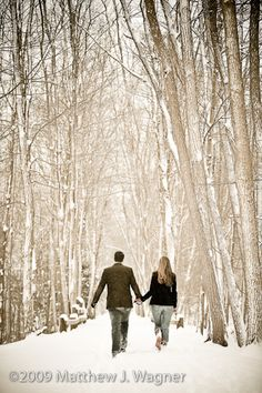 Winter Engagement Photos :  wedding engagement outside photos pictures winter Wintere
