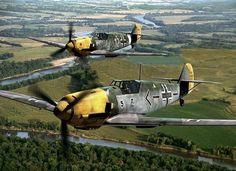 Adolf Galland`s Messerschmitt Bf 109 E Aircraft Photos, Ww2 Aircraft, Military Aircraft, Military Weapons, Luftwaffe, Air Fighter, Fighter Jets, Fighting Plane, Ww2 History
