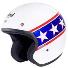 The Arai Freeway suits any style of riding from the plain colours for every day riders, and for those who are riding a Cruiser,