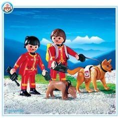 Playmobil 4227 Rescue Unit with K9  OKOK