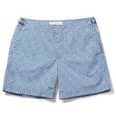 9db4e38faf Orlebar Brown Bulldog Mid-Length Printed Swim Shorts | MR PORTER Shorts A  Cuadros,