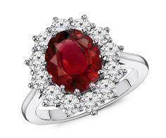 2.70 Carat Ruby & Diamond Ring