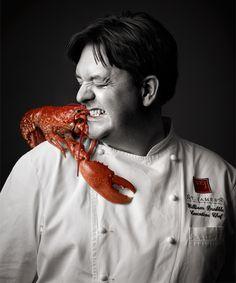 William Drabble, Executive Head Chef at Michelin-starred Seven Park Place. Deze chef heeft wereldbekende gerechten gemaakt die niemand anders na kan maken. Ik lees veel boeken over koken en zijn boek is één van mijn favorieten.