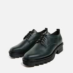 Image 4 of TRACK SOLE BLUCHERS from Zara
