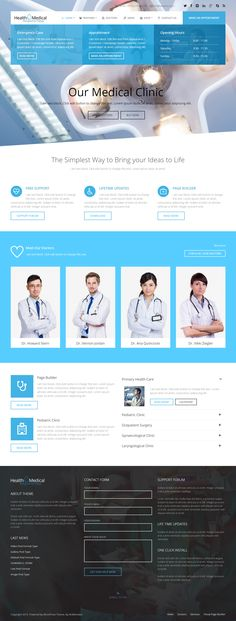 Health & Medical is Premium Responsive Retina Parallax WordPress Medical theme. WooCommerce. Drag and Drop. Video Background. http://www.responsivemiracle.com/cms/health-medical-premium-responsive-wordpress-theme-medicine/