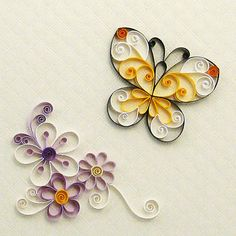 Quilling Flowers - PDF Pattern / Tutorial. $5.00, via Etsy.