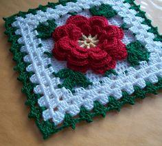 Thread Potholder Crocheted from Vintage Pattern by Acadian Crochet, via Flickr
