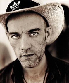 michael stipe with hair