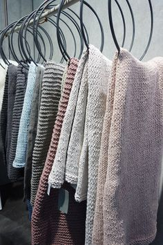 Trending colors and patterns, etc...love the pastels with grey