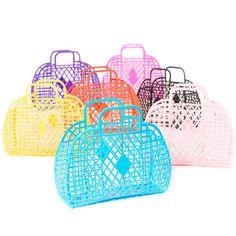 ca87249df3a2 Image of Sun Jellies Jelly Handbag - large (assorted colours). Berylune