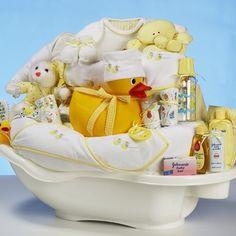 ducks in a tub