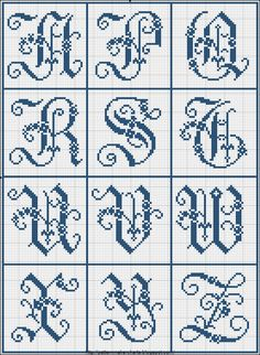 Free Easy Cross, Pattern Maker, PCStitch Charts + Free Historic Old Pattern…