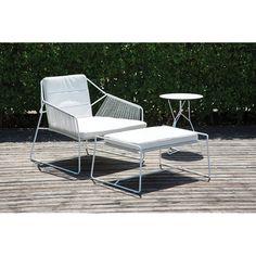 Sandur Lounge Chair with Cushion