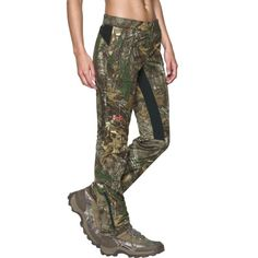 6caade643e Under Armour Women's Chase Hunting Pants, Size: 10, Brown Under Armour Női,