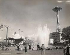 @seattletimes  The Seattle World's Fair opened 55 years ago today. This is what it looked like: http://st.news/2pMmjhD