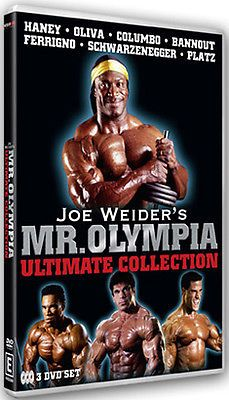 Joe #weider`s mr #olympia ultimate #collection - dvd - region 2 uk,  View more on the LINK: http://www.zeppy.io/product/gb/2/162224170901/