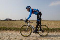 Jacob Rathe - Paris-Roubaix, recon #pro #bicycle #cervelo