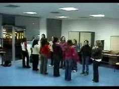 BODY PERCUSSION - DVD Vol. 1 - PERCUSION CORPORAL ( Like Skipping .... you have to TIME your JUMP ) .. or in this case, time your stride.