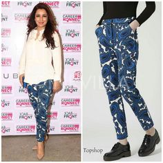 Tisca Chopra in Topshop.