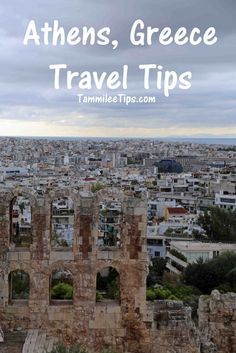 Athens Greece Travel Tips