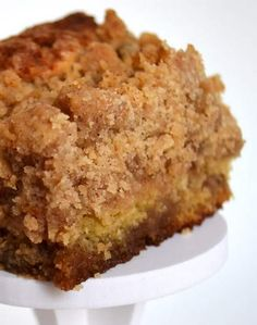 Cinnamon Swirl Coffee Cake with Crumb Topping   Cook & Taste. I LOVE coffee cake!! As long as it doesn't have any nasty raisins in it!!