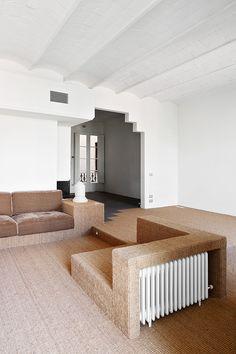 Finaliza la obra de reforma de una vivienda de 120m2 en la calle Girona, Barcelona.